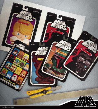 MiniWars: Collector Cards Set 1 by bluBoyComics