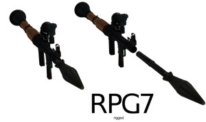 RPG-7 - Rigged by ProgammerNetwork