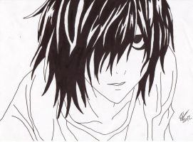 L, death note by Zimmander