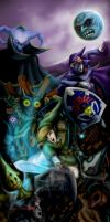 The Legend of Zelda by Dinosalazar