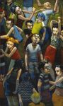 Linear Crowds by jasinski