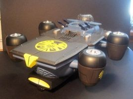 SHIELD Helicarrier by luke314pi