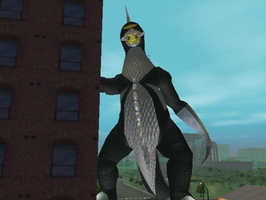 GDAMM Texture hacks Black Gigan. by HugePokemonFan