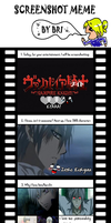 Screenshot Meme: Vampire Knight by inuyashaxandxkagome