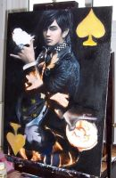 jay chou card painting wip by can-u-hear-me