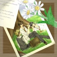 Poem-Pic - In A Little While by aingeal