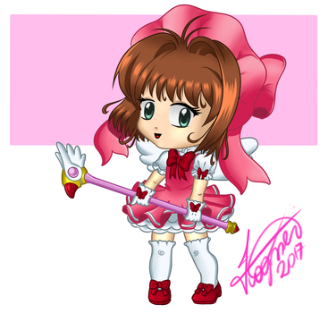 Chibi Sakura Card Captors by Fagner1994