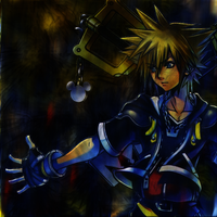 Kingdom Hearts Album Cover by PhantomSunsSong
