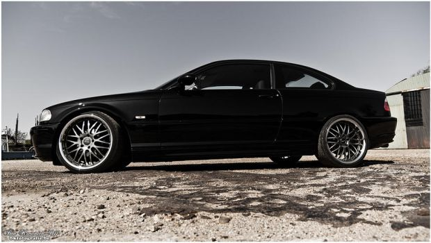 BMW E46 coupe 2 by bekwa
