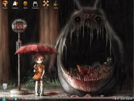 My Dead Neighbor Totoro by Silihouette