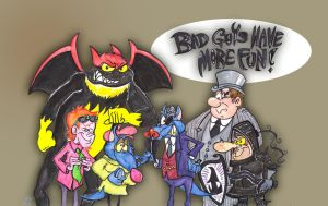 Baddies bunch by Granitoons