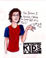 Trevor Moore a white kid by Anarchpeace