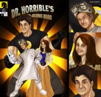 Dr Horrible Cover + Close up by tabu-art