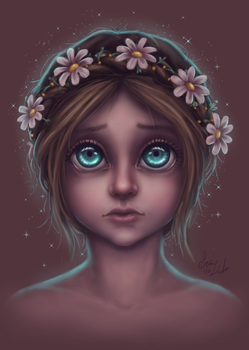 Big Eyes Fanart by themisselink