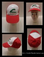How to make: Ash Ketchum's Hat by YoshiFHP