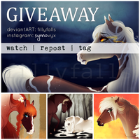 Free Art Giveaway ! by Fillyfalls