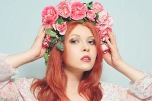 floral head wreath by Aksel999