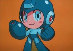 Megaman by magg1303
