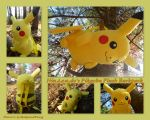 Nintendos Pikachu Plush Backpack by DoloAndElectrik
