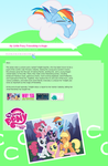 MLP FiM journal Css by LoreHoshiko