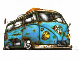 VW T1 - Wake Me Up by Medvezh