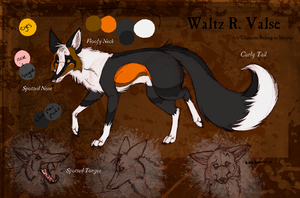 Waltz R. Valse Sheet by miryhis