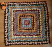 WIP wooleater coverlet by Schleichgirl1976