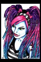 dreaded and striped by megoboom