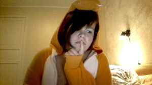 Charmander me is really shy :3 by nami94