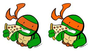 My favorite TMNT by ChibiCelina