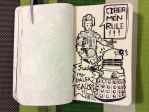 DoodleBook 123 - *bonus* of daleks and cybermen by doodler14