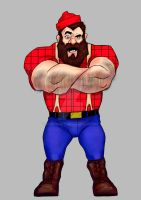 lumberjack-Character Design by RudyMary