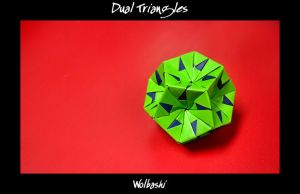 Dual Triangles by wolbashi