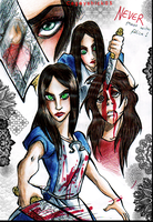 NEVER challenge Alice.. by Cageyshick05
