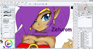 [Preview/WIP] Shantae 1/2 Genie Hero by Zero6694