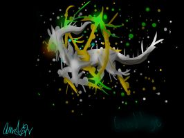 The Disappearance of Arceus by leafeoneve3