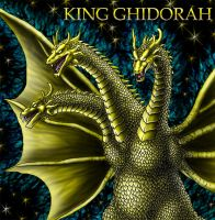 King Ghidorah - Finished by FoolishLittleMortal