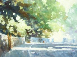 Sun and Shade in Lansworth by litka