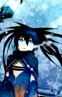 Black Rock Shooter Winter by BlackGhostAngel