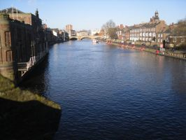 Blue of the River Ouse by fourimpromptus
