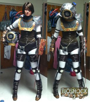 Big Sister Cosplay- Complete by Kari--Koboyashi
