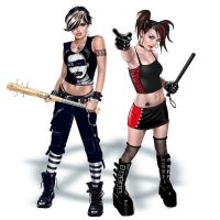 punk girls by GARV23
