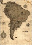 South America Map by samuka