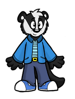 Badger by Cartcoon