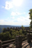 Coopers Rock Overlook 4 by Thy-Darkest-Hour