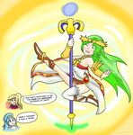 Palutena: Staff Dancer by Xero-J