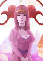 Adventure Time-Princess Bubblegum by syuanga