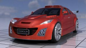 Mazda RX-8 Test Render by Councilor