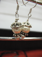 Antique Looking Magnet Earrings by sampdesigns
