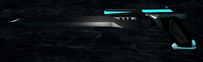 Gunblade [blend and mmd coming soon] by Sefina-NZ